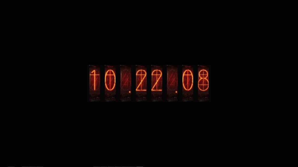 Nixie Clock(personal)
