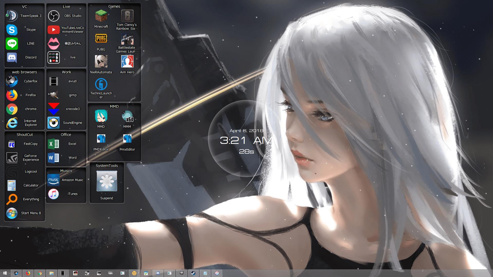 デスクトップ 整理 壁紙