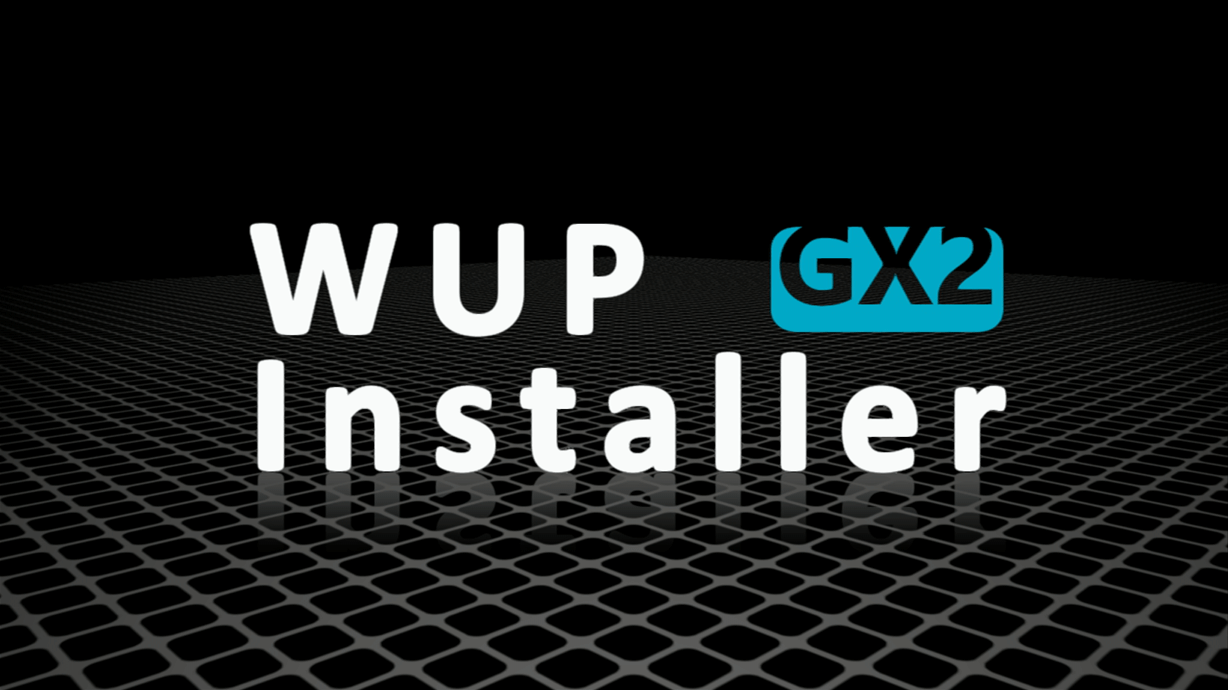 WUP Installer GX2